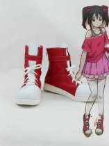 Love Live! Yazawa Nico Red & White Cosplay Boots