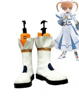 Magical Girl Lyrical Nanoha Takamachi Nanoha Battle Mode Version Cosplay Boots