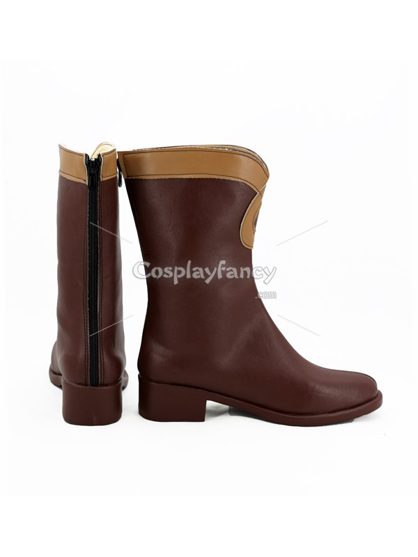 Mobile Suit Gundam: Iron-Blooded Orphans Lafter Frankland Cosplay Boots