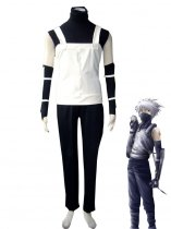 Naruto Cosplay Kakashi Hatake Black Ops Uniform Cosplay Costume