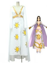 One Piece Boa Hancock White Cosplay Costume/Dress