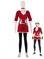 Pocket Monster Pokmon GO Female Trainer Cosplay Costume