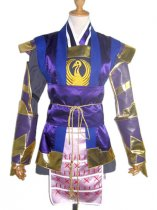 Samurai Warriors Ranmaru Mori Cosplay Cosutme