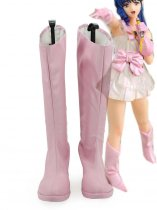 The Super Dimension Fortress Macross Pink Ling Ming-mei Anime Cosplay Boots