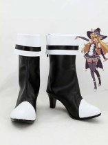 Touhou Project Kirisame Marisa Black & White Cosplay Boots