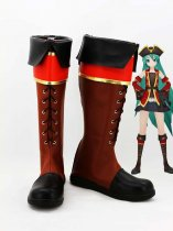 Vocaloid 2 Project DIVA Pirates Hatsune Miku Cosplay Boots