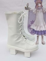 Vocaloid Cenbonzakura Luka Geta Bottom Cosplay Boots