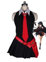 Akame Ga Kill! Akame Black Cosplay Dress