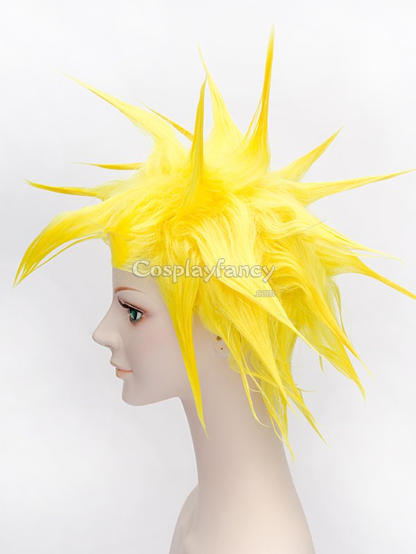 Dragon Ball Yellow Cosplay Wig