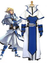 Guilty Gear Cosplay Ky Kiske Uniform Cloth Cosplay Costume