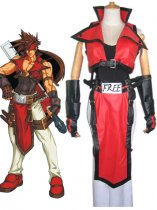 Guilty Gear Cosplay Sol Badguy Cosplay Costume