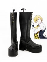IDOLiSH7 Nagi Rokuya Black Cosplay Boots