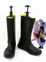 InuYasha Cosplay Sesshoumaru Black Cosplay Boots