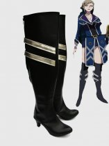 K Project Cosplay Seri Awashima Cosplay Black Cosplay Boots