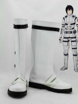Knights of Sidonia Nagate Tanikaze White Cosplay Boots