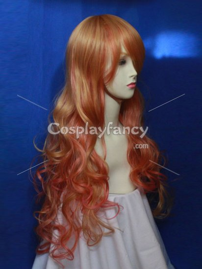 Macross Frontier Cosplay Sheryl Nome's Blond Hair Cosplay Wig - Click Image to Close