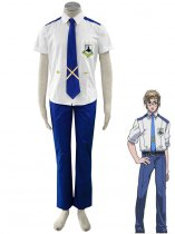 Macross Frontier Mikhail/Michael Blanc Cosplay Costume