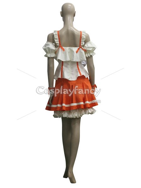Macross Frontier Ranka Lee Cosplay Costume/Dress