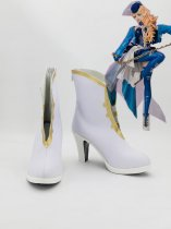 Macross Frontier Sheryl Nome White Anime Cosplay Boots