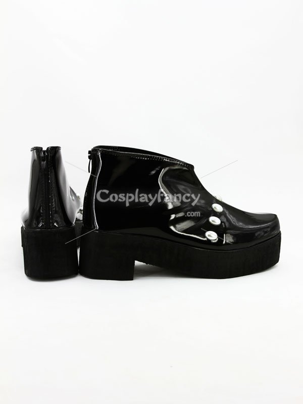 One Piece Cosplay Brook Black Cosplay Shoes