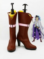One Piece Cosplay Cavendish Hight Heel Cosplay Boots