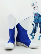 Pokemon Cosplay Latias Blue Anthropomorphism Cosplay Boots