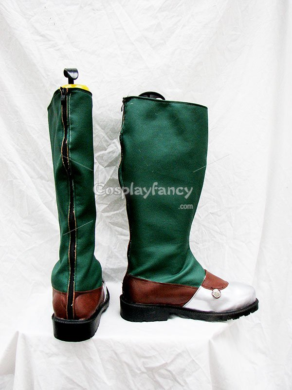 The Legend of Heroes VI Doln Capua Cosplay Boots