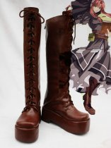 The Legend of Heroes VI Ries Argent Cosplay Boots