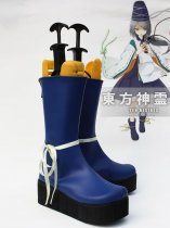 Touhou Project Mononobe no Futo Cosplay Boots