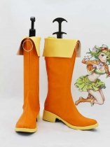 Vocaloid Formula version GUMI Orange Cosplay Boots
