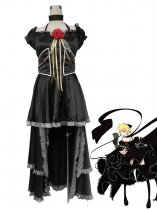 Character Vocal Series Kagamine Rin Black Cosplay Costume