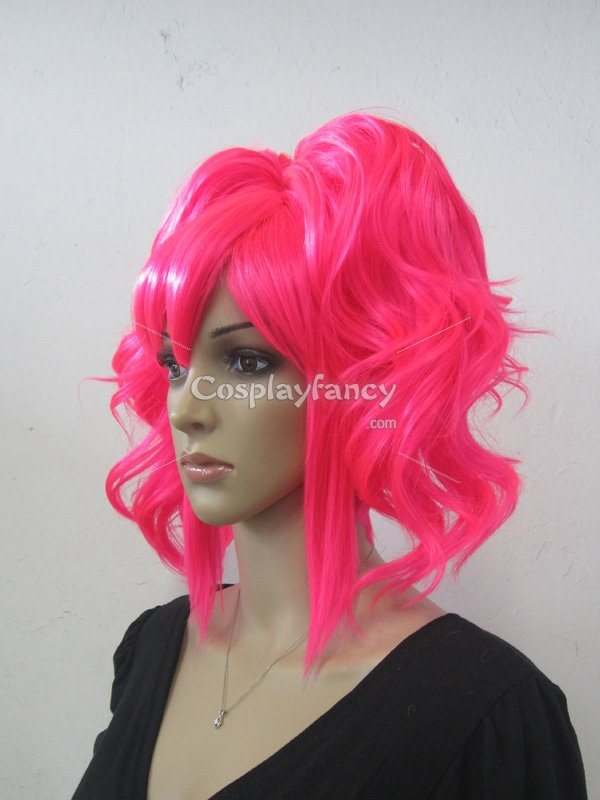 Code Geass Anya Alstreim Rose Red Cosplay Wig