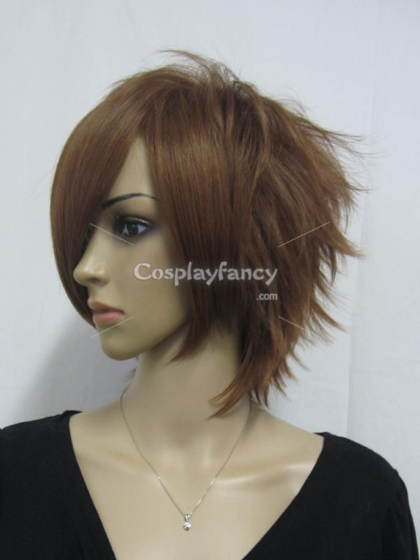 Code Geass Suzaku Kururugi Brown Cosplay Wig