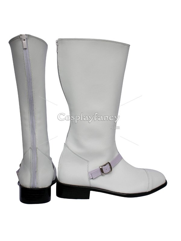 Cosplay Shoes Final Fantasy XIII Cid Raines White Cosplay Shoes