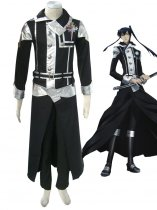 D.Gray-man Cosplay Exorcist Yu Kanda First Cosplay Costume