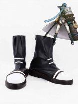 Hack//G.U. Ovan Black & White Cosplay Boots