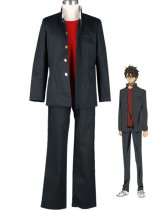Highschool of the Dead Takashi Komuro School Uniform Cosplay Costume