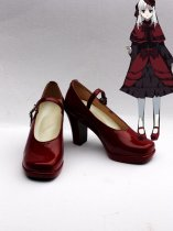 K Project Cosplay Anna Kushina Cosplay Red Shoes