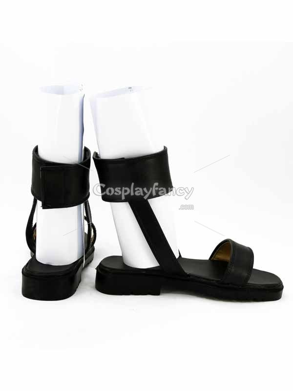 Naruto Cosplay Hinata Uzumaki Black Cosplay Ninja Shoes