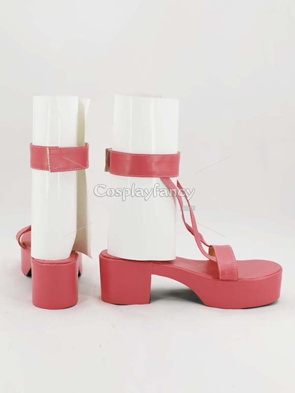 Naruto Cosplay Sakura Uchiha Pink Cosplay Ninja Shoes