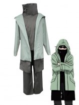 Naruto Cosplay Shino Aburame Teenager Uniform Cosplay Costume