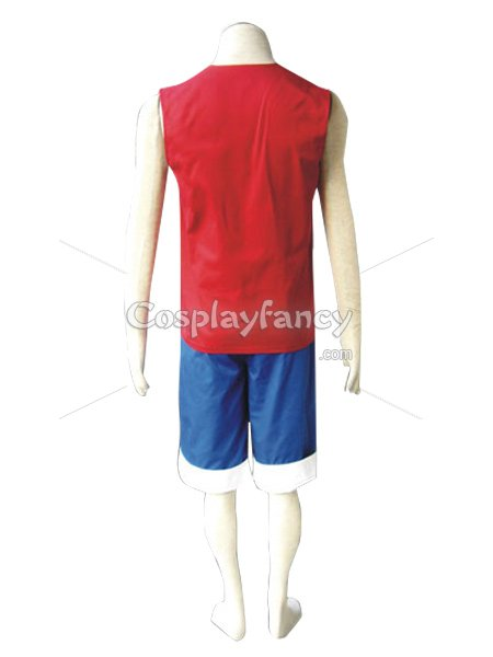 One Piece Cosplay Monkey D Luffy Cosplay Costume 3