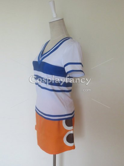 One Piece Nami Cosplay Costume - Click Image to Close