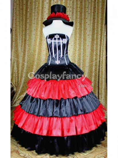 One Piece Perona Two Years Later Cosplay Costume/Dress - Click Image to Close