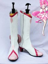 Pretty Cure Cure Blossom White Cosplay Boots