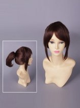Silver Soul Shimura Tae Brown Cosplay Wig