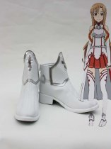 Sword Art Online Cosplay Asuna White Cosplay Boots