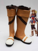 The Legend of Heroes Anelace Elfead Cosplay Boots