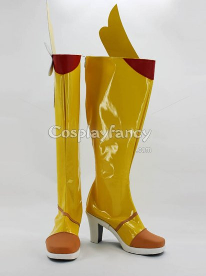 Vocaloid China Project Mo Qingxian Cosplay Boots - Click Image to Close