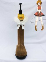 Vocaloid Cosplay Meiko Brown Short Boots